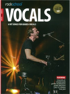 Rockschool: Vocals Grade 4 - Male (Book/Audio Download) Books and Digital Audio | Voice