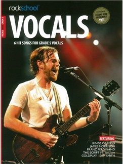 Rockschool: Vocals Grade 5 - Male (Book/Audio Download) Books and Digital Audio | Voice
