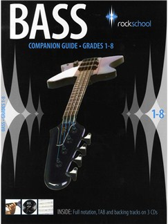 Rockschool Companion Guide - Bass Guitar Books and CDs | Bass Guitar