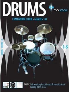 Rockschool Companion Guide - Drums Bog og CD | Trommer
