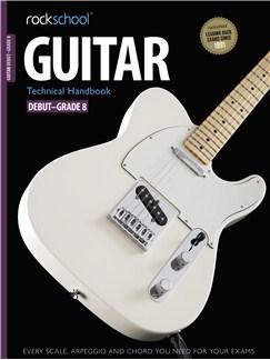 Rockschool: 2012-2018 Guitar Technical Handbook - Grades Debut-8 Books | Guitar, Guitar Tab