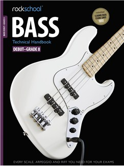 Rockschool: 2012-2018 Bass Technical Handbook - Grades Debut-8 Books and CDs | Bass Guitar