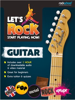 Let's Rock Guitar – Start Playing Now! Books | Guitar