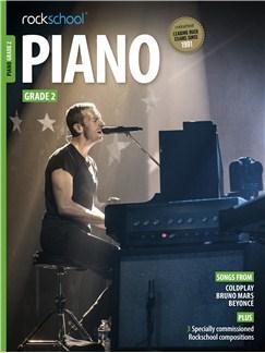 Rockschool Piano - Grade 2 Books and Digital Audio | Piano