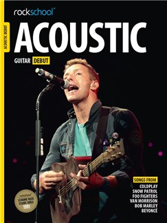 Rockschool Acoustic Guitar - Debut (2016+) (Book/Online Audio) Books | Acoustic Guitar