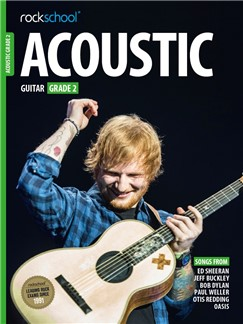 Rockschool Acoustic Guitar - Grade 2 (2016+) (Book/Online Audio) Bog | Akustisk guitar