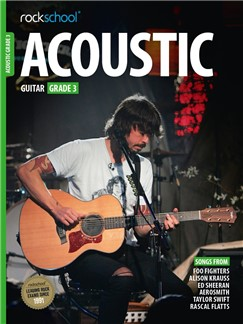 Rockschool Acoustic Guitar - Grade 3 (2016+) (Book/Online Audio) Books | Acoustic Guitar