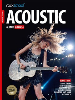 Rockschool Acoustic Guitar - Grade 4 (2016+) (Book/Online Audio) Books | Acoustic Guitar
