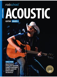 Rockschool Acoustic Guitar - Grade 6 (2016+) (Book/Online Audio) Books | Acoustic Guitar
