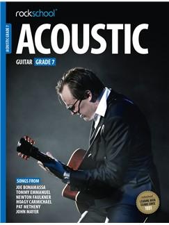 Rockschool Acoustic Guitar - Grade 7 (2016+) (Book/Online Audio) Livre | Guitare Acoustique