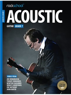Rockschool Acoustic Guitar - Grade 7 (2016+) (Book/Online Audio) Books | Acoustic Guitar