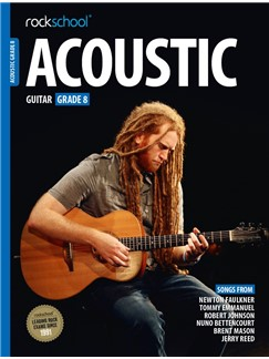 Rockschool Acoustic Guitar - Grade 8 (2016+) (Book/Online Audio) Books | Acoustic Guitar
