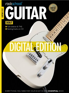 Rockschool Digital Debut Guitar Exam Piece: Beat the Mersey Digital Audio | Guitar Tab