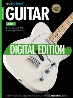 Rockschool Digital Grade 1 Guitar: Technical Exercises Digital Audio | Guitar Tab