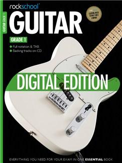 Rockschool Digital Grade 1 Guitar: Sight Reading and Improvisation & Interpretation Digital Audio   Guitar Tab