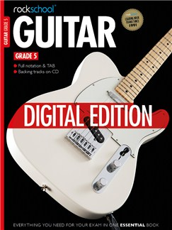 Rockschool Digital Grade 5 Guitar: Sight Reading and Improvisation & Interpretation Digital Audio | Guitar Tab