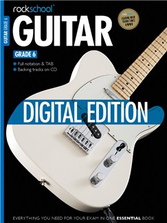 Rockschool Digital Guitar Grade 6 Exam Piece: Striped Shirt Digital Audio | Guitar Tab