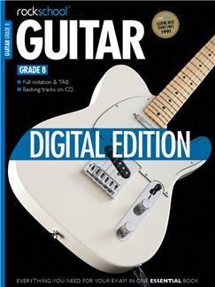 Rockschool Digital Guitar Grade 8 Exam Piece:  Lead Sheet Digital Audio | Guitar Tab