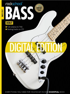 Rockschool Digital Debut Bass Exam Piece: The New Black Digital Audio | Bass Guitar Tab