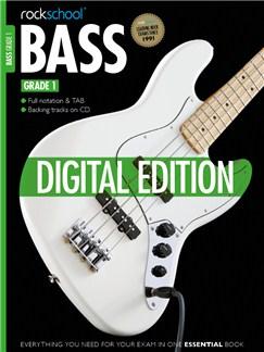 Rockschool Digital Grade 1 Bass: Sight Reading and Improvisation & Interpretation Digital Audio | Bass Guitar Tab