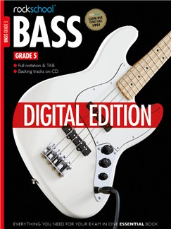 Rockschool Digital Grade 5 Bass: Sight Reading and Improvisation & Interpretation Digital Audio | Bass Guitar Tab