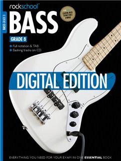 Rockschool Digital Grade 8 Bass: Technical Exercises Digital Audio | Bass Guitar Tab