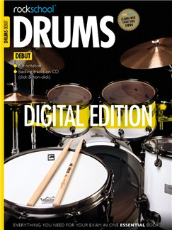 Rockschool Digital Debut Drums: Sight Reading Digital Audio | Drums