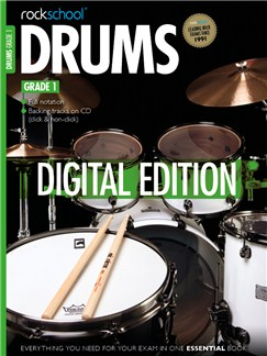Rockschool Digital Grade 1 Drums: Sight Reading and Improvisation & Interpretation Digital Audio | Drums