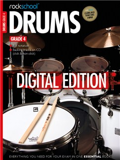 Rockschool Digital Drums Grade 4 Exam Piece: Attitude Digital Audio | Drums