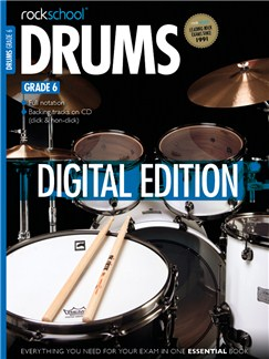 Rockschool Digital Drums Grade 6 Exam Piece: Pop it in the ToP Digital Audio | Drums