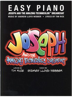 Andrew Lloyd Webber: Joseph And The Amazing Technicolor Dreamcoat (Easy Piano) Books | Piano, Vocal & Guitar (with Chord Symbols)