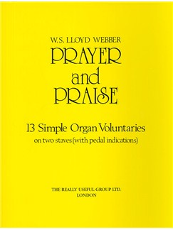 W.S. Lloyd Webber: Prayer And Praise Books | Organ