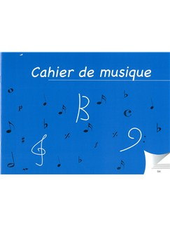 Cahier De Musique À 6 Portées (Double Page)  | All Instruments