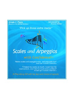 Scales And Arpeggios With Confidence - Grade Two (CD) CDs | Piano