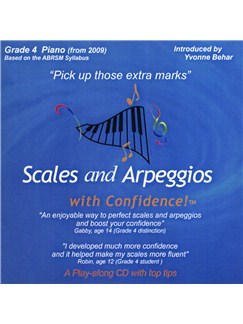 Scales And Arpeggios With Confidence - Grade Four CDs | Piano