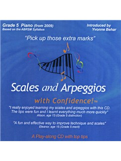 Scales And Arpeggios With Confidence - Grade Five CDs | Piano