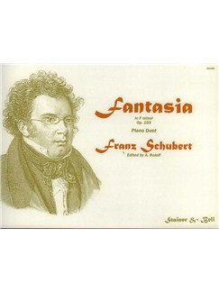 Franz Schubert: Fantasia in F Minor D.940 Op.103 (Piano Duet) Books | Piano