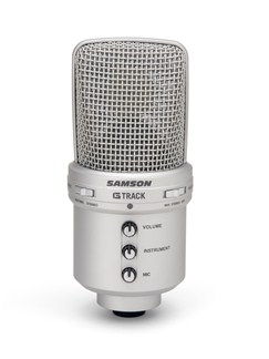 Samson: G-Track - USB Condenser Mic With Audio Interface  |