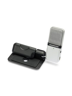 Samson: Go Mic - Portable USB Condenser Microphone With Laptop Clip  |