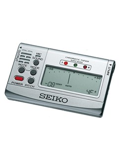 Seiko: SAT-501 Chromatic Tuner - Silver  | All Instruments