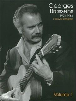 Georges Brassens 1921-1981: L'oeuvre Intégrale - Vol.1 Livre | Piano, Chant et Guitare (Boîtes d'Accord)