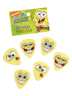 Spongebob Squarepants: SpongeBob Pick Pack  | Guitar
