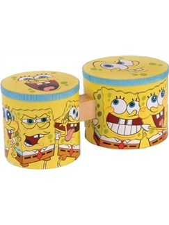 Spongebob Squarepants: Mini Bongo Drums Instruments | Percussion, Bongos