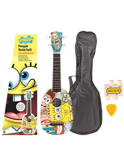 SpongeBob Squarepants: Pineapple Ukulele Outfit Instruments | Ukulele