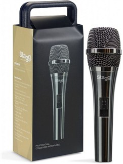 Stagg: Pro Cardioid Electret Condenser Microphone With Cartridge CC32  |