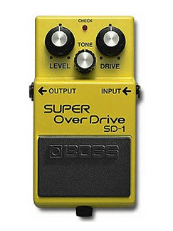 Boss: SD-1 Super Distortion Pedal  | Electric Guitar