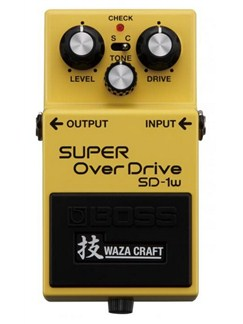 Boss: SD-W1 Waza Craft Custom Super Overdrive Guitar Effects Pedal  |