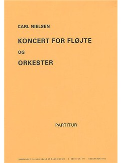 Carl Nielsen: Concerto For Flute And Orchestra (Miniature Score) Books | Flute, Orchestra