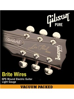 Gibson: Brite Wires Electric Guitar Strings 9-46  | Electric Guitar