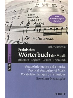 Roberto Braccini: Practical Vocabulary Of Music Books |